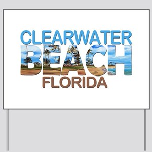 Summer clearwater- florida Yard Sign