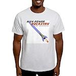 High Power Rocketry Ash Grey T-Shirt