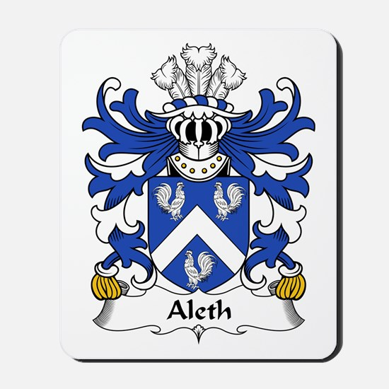Aleth (King of Dyfed) Mousepad