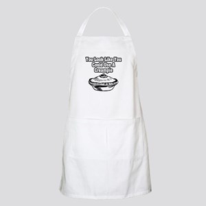 """""""You Look Like You Could Use A Creampie"""" BBQ Apron"""