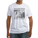 Waterboarding T-Shirt (fitted)