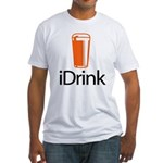 iDrink Fitted T-Shirt