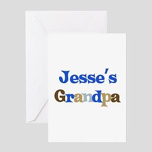 Jesse's Grandpa Greeting Card