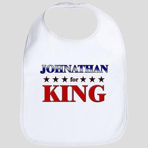 JOHNATHAN for king Bib