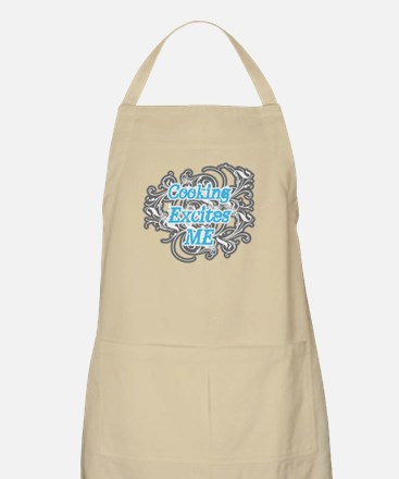 Cooking Excites Me BBQ Apron
