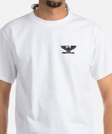 Colonel<BR> White T-Shirt