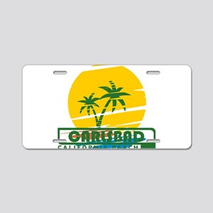 Summer carlsbad state- cali Aluminum License Plate