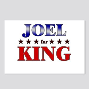 JOEL for king Postcards (Package of 8)