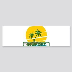 Summer newport- california Bumper Sticker