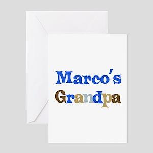Marco's Grandpa Greeting Card