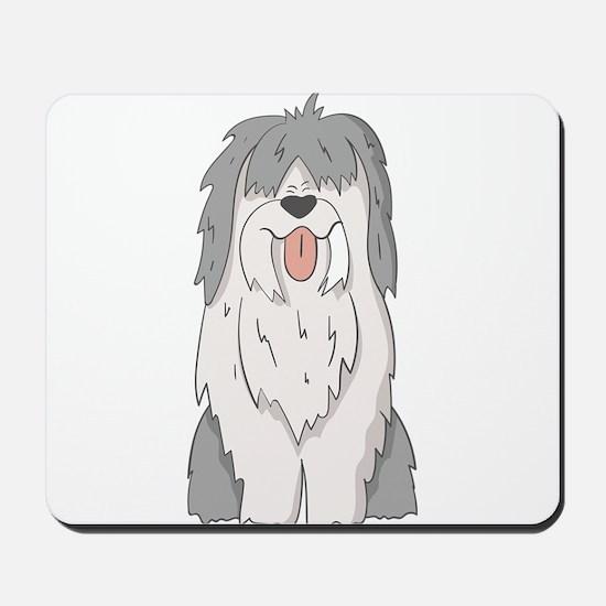 sheep dog Mousepad