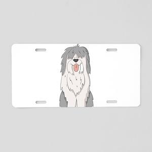 sheep dog Aluminum License Plate