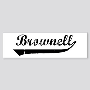 Brownell (vintage) Bumper Sticker