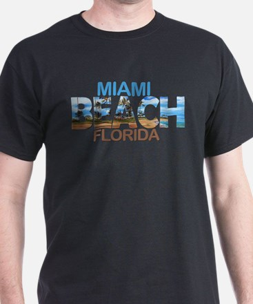 Summer miami beach- florida T-Shirt