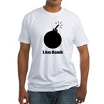 I Am Bomb Fitted T-Shirt
