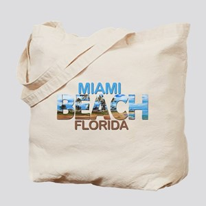 Summer miami beach- florida Tote Bag