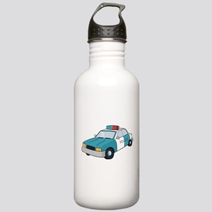 police car Stainless Water Bottle 1.0L