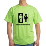 The Horrible Truth Green T-Shirt