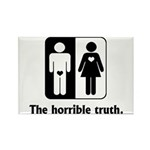 The Horrible Truth Rectangle Magnet (100 pack)