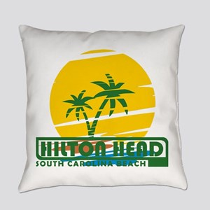 Summer hilton head- south carolina Everyday Pillow