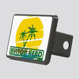 Summer hilton head- south Rectangular Hitch Cover