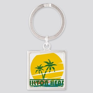Summer hilton head- south carolina Keychains