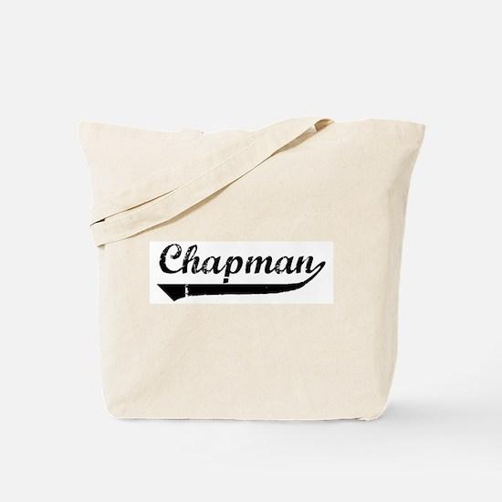Chapman (vintage) Tote Bag
