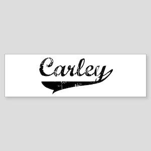 Carley (vintage) Bumper Sticker