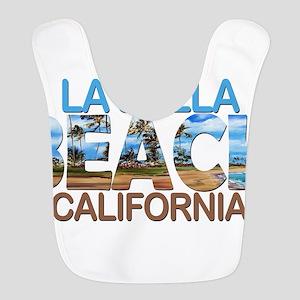Summer la jolla shores- califor Polyester Baby Bib