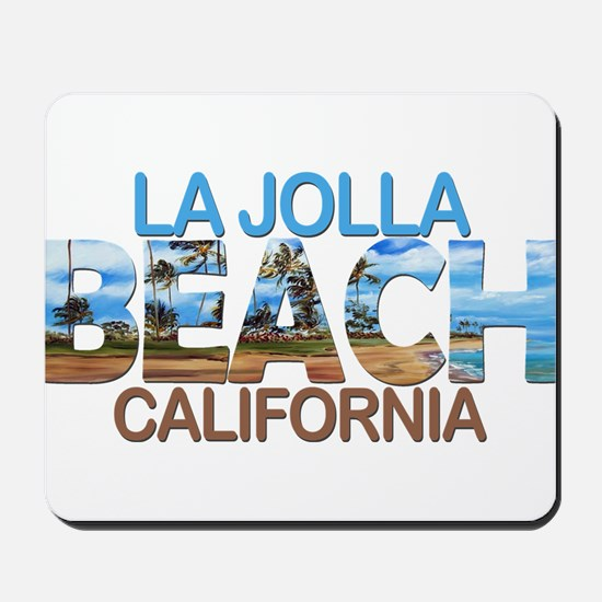 Summer la jolla shores- california Mousepad