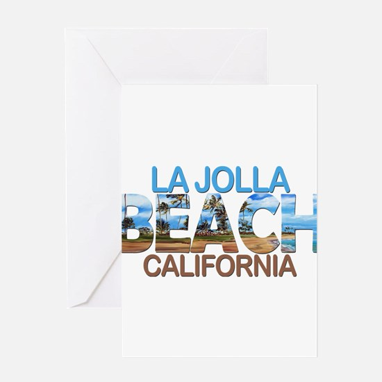 Summer la jolla shores- california Greeting Cards