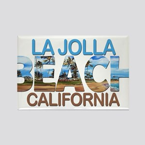 Summer la jolla shores- california Magnets