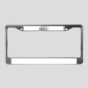 Summer la jolla shores- califo License Plate Frame