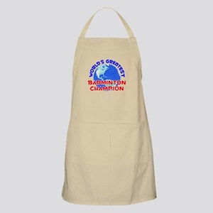 World's Greatest Badmi.. (E) BBQ Apron