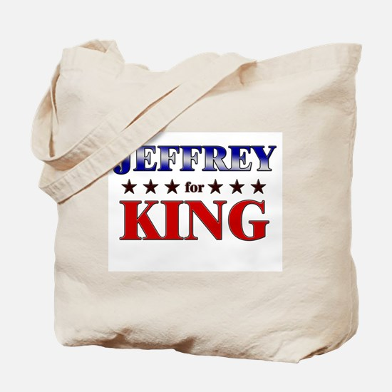 JEFFREY for king Tote Bag