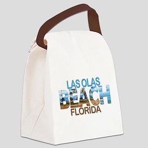 Summer las olas- florida Canvas Lunch Bag