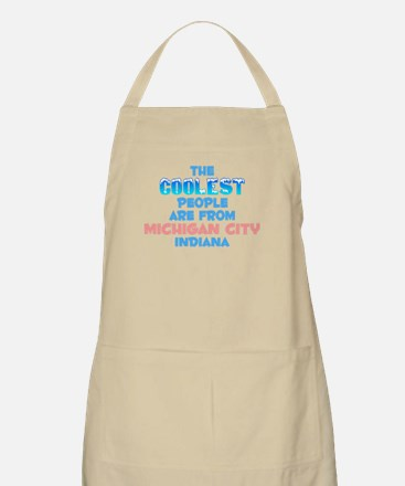Coolest: Michigan City, IN BBQ Apron