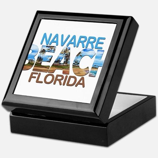 Summer navarre- florida Keepsake Box