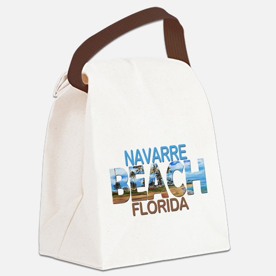 Summer navarre- florida Canvas Lunch Bag
