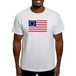 Grey Betsy Ross Flag T-Shirt
