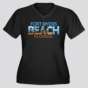 Summer fort myers- florida Plus Size T-Shirt