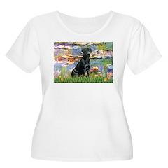 Lilies (#2) & Black Lab T-Shirt