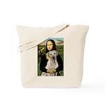 Mona Lisa / Lab (y) Tote Bag