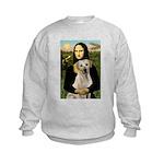 Mona Lisa / Lab (y) Kids Sweatshirt