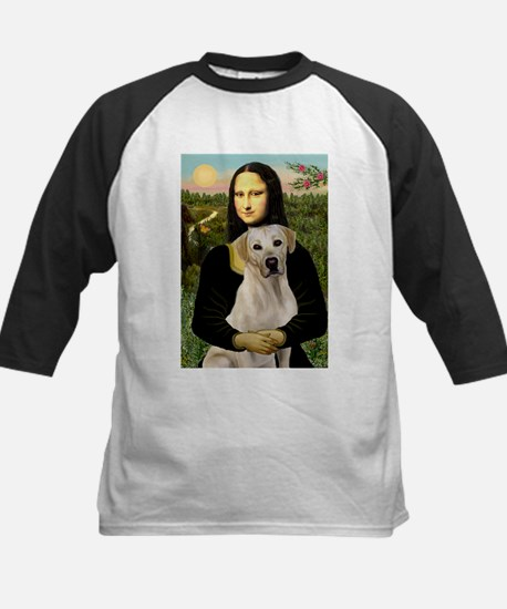 Mona Lisa / Lab (y) Kids Baseball Jersey