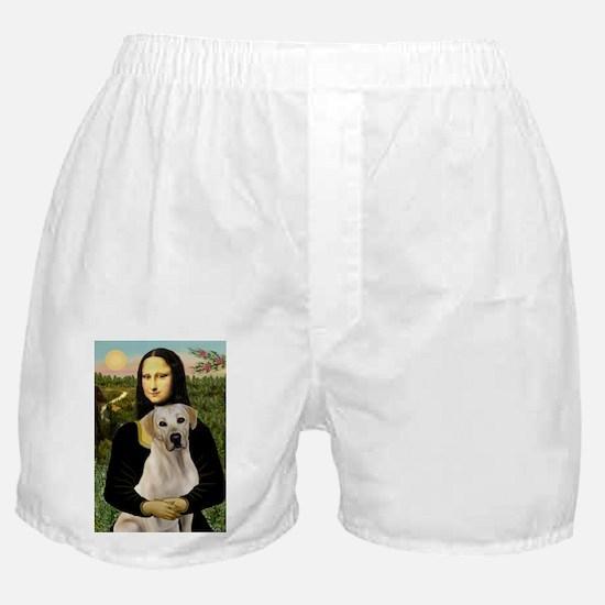 Mona Lisa / Lab (y) Boxer Shorts