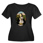 Mona Lisa / Lab (y) Women's Plus Size Scoop Neck D