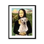 Mona Lisa / Lab (y) Framed Panel Print