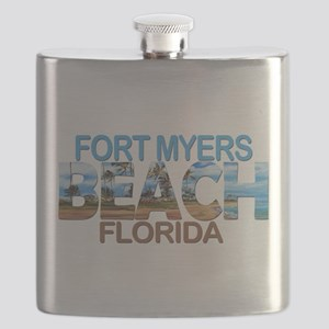 Summer fort myers- florida Flask