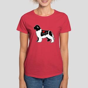 newfoundland heart Women's Dark T-Shirt